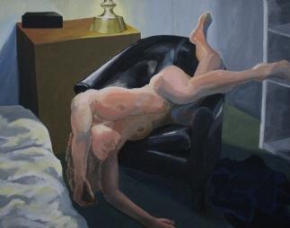 """46"""" x 36"""" Acrylic on canvas"""
